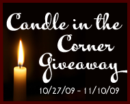 candle in the corner
