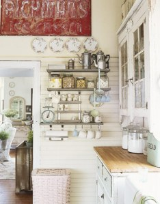 Kitchen inspiration shelving - CL